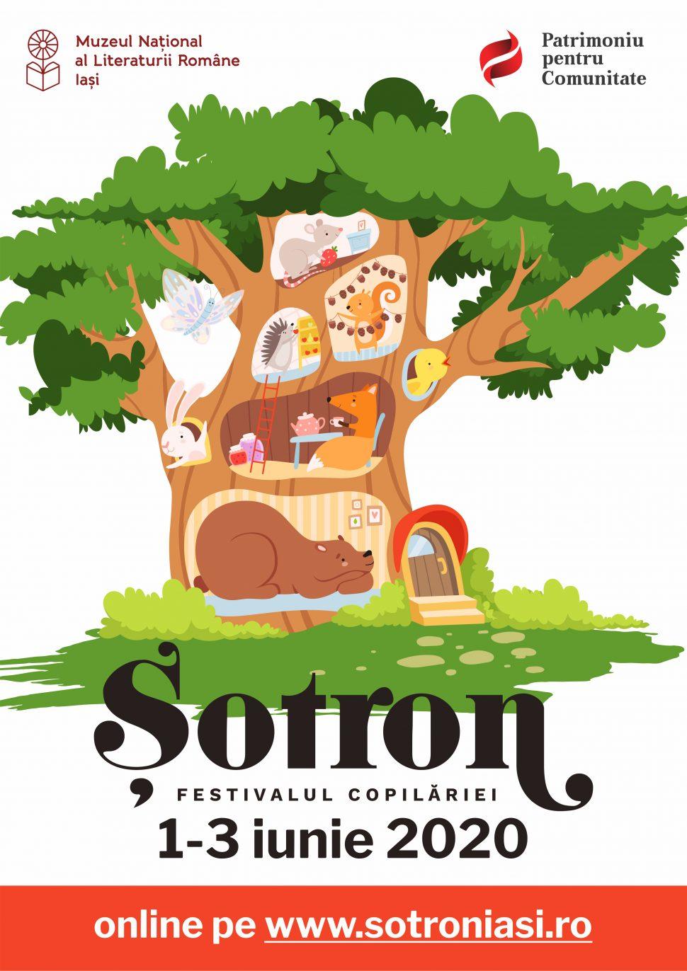 Șotron. Festivalul copilăriei, hub online pentru cei mici